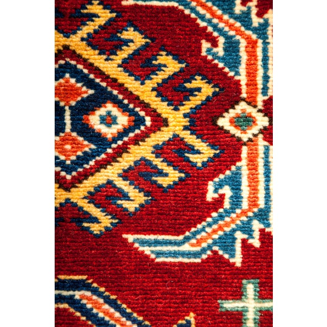 "New Traditional Hand Knotted Area Rug - 5'1"" x 6'4"" - Image 3 of 3"