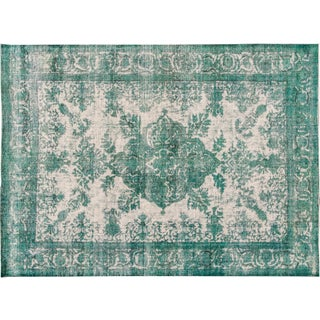 Apadana Green Over-Dyed Rug - 9′3″ × 12′9″