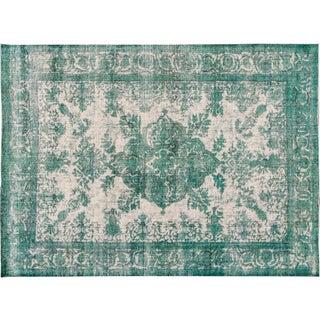 Apadana Green Over-Dyed Rug - 9′3″ × 12′9″
