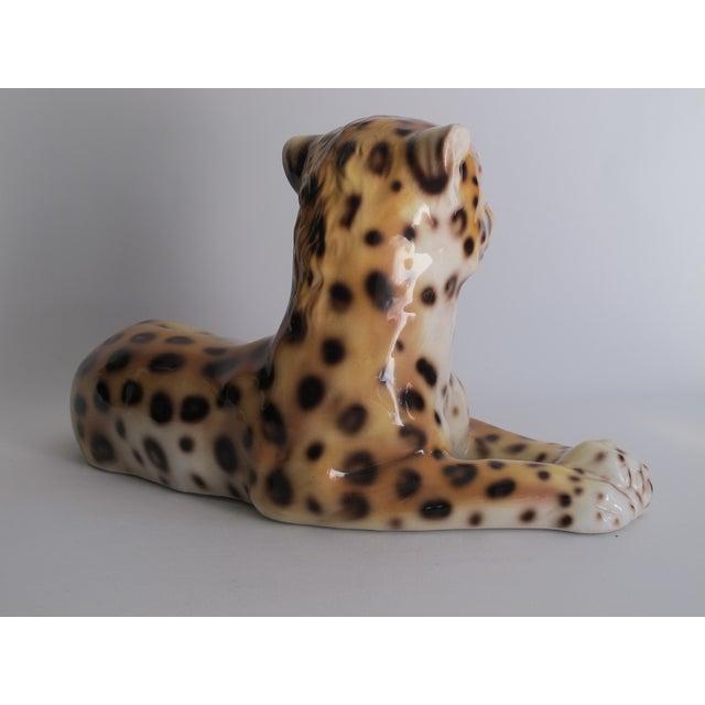 Capodimonte Ceramic Jaguar - Image 4 of 11