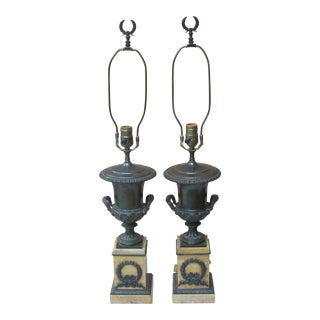 Vintage Classical Lamps - a Pair
