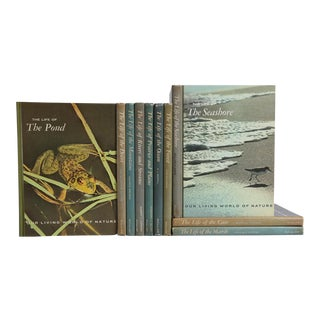 1960's Nature Library: Our Living World of Nature - Set of 10