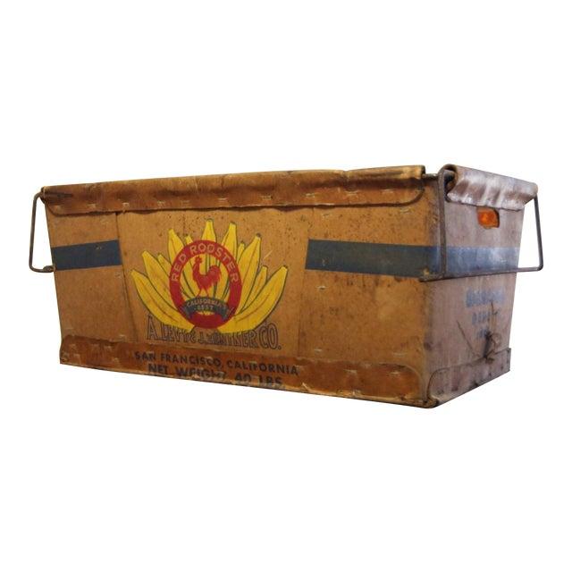 Vintage Banana Crate - Image 1 of 10