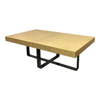 Large Industrial Storage Coffee Table