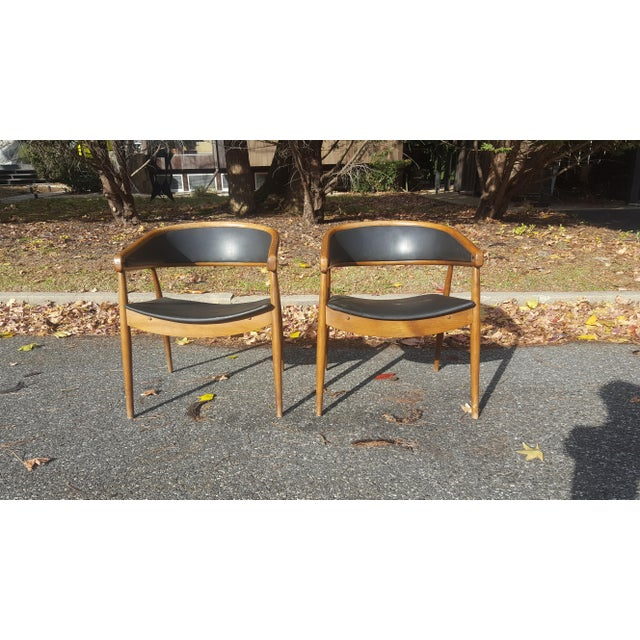 James Mont Vintage Mid-Century Lounge Chairs - A Pair - Image 4 of 7