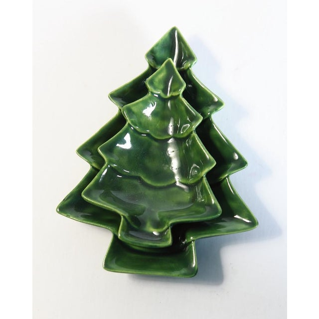 Small Nesting Christmas Trees - A Pair - Image 2 of 4