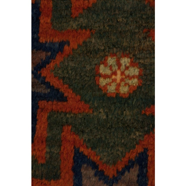 """New Tribal Hand Knotted Area Rug - 5'2"""" x 8'9"""" - Image 3 of 3"""