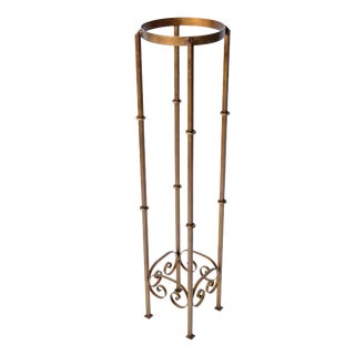 Cast Iron Golden Plant Stand