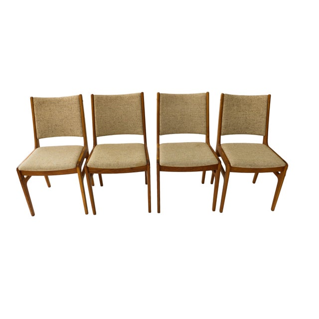 Vintage D-Scan Danish Teak Chairs - Set of 4 - Image 6 of 10