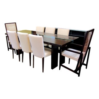 Pierantonio Bonacina Astoria Walnut Dining Set