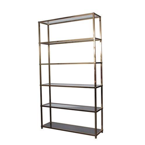 Image of HD Buttercup Metallic Gold Bookcase