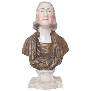 19th Century Porcelain Figure of John Wesley