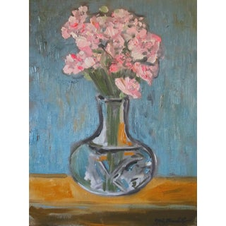 """""""Pink Carnations"""" Painting"""