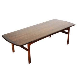 Large Danish Modern Teak Coffee Table