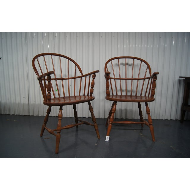 Image of Vintage Windsor Chairs - A Pair