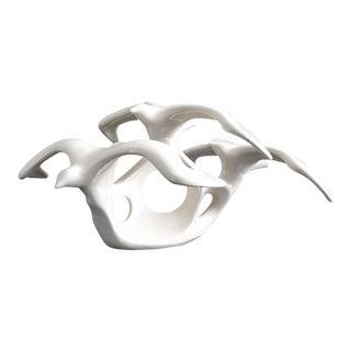 Vintage Ceramic Seagull Figurine