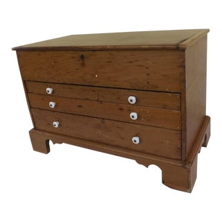 Antique Pine Blanket Chest