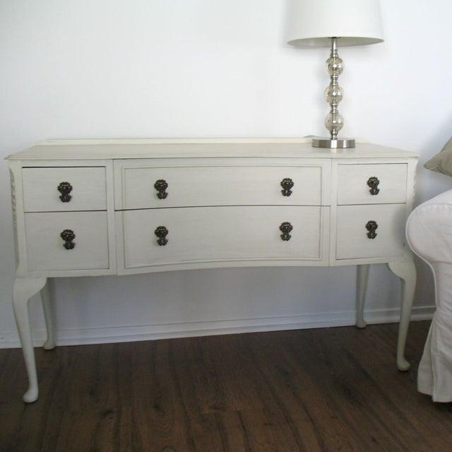Image of Refinished Vintage Vanity Table