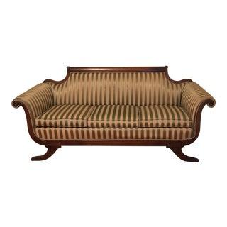 Vintage Duncan Phyfe-Style Sofa