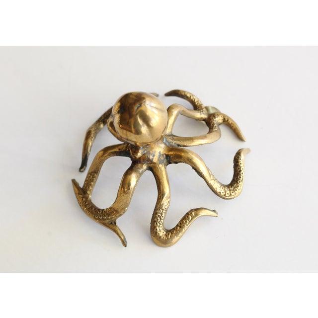 Image of Vintage Brass Octopus