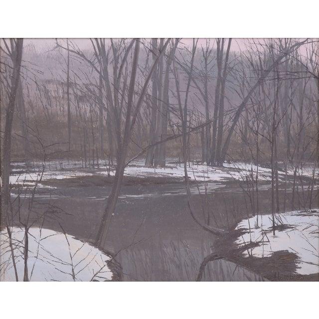 Image of Robert Hamblen Rhode Island Impressionist Painting