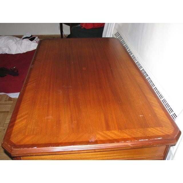 Image of Grand Vintage Hardwood Desk