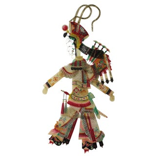 Traditional Chinese Lady Warrior Statue