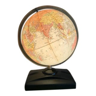 Replogle Light Up Metal Based Library Globe