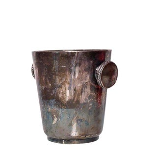 Mid-Century Modern Silver Plated Champagne Bucket