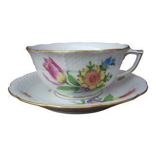 Herend Hand Made Teacup & Saucer