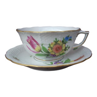 Herend Hand Made Teacup & Saucer