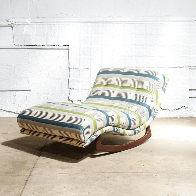 "Adrian Pearsall ""Wave"" Chaise Rocker - Image 2 of 11"