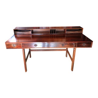 1972 Peter Loving Style Rosewood Flip Top Desk