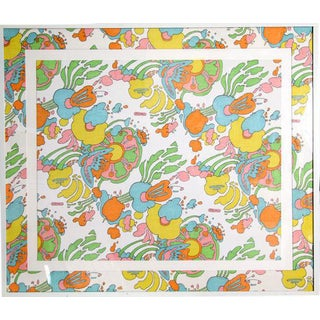 Peter Max Floral Cotton Fabric