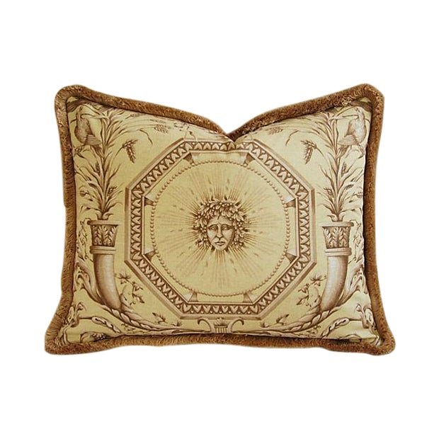 Designer Braemore Mythical Goddess Accent Pillow - Image 1 of 7
