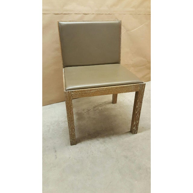 Jean Michel Frank Style Side Chairs- Set of 4 - Image 6 of 6