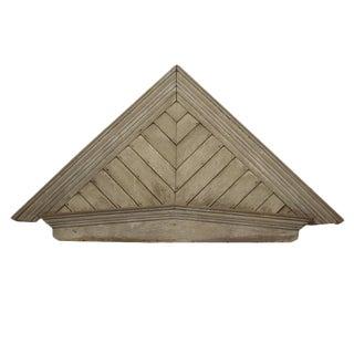 American Wood Pediment