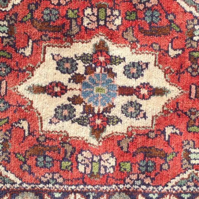 Hamadan Persian Rug - 1′7″ × 3′5″ - Image 4 of 7