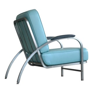 Retro Mid Century Modern Art Deco Chair