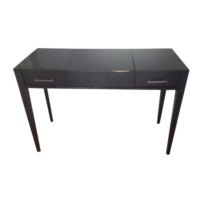 Image of Crate and Barrel Vanity Desk