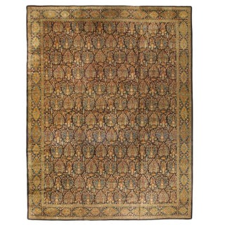 Antique Late 19th Century Oversize North Indian Carpet