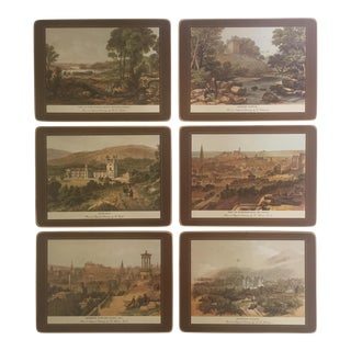 English Castles Placemats - Set of 6
