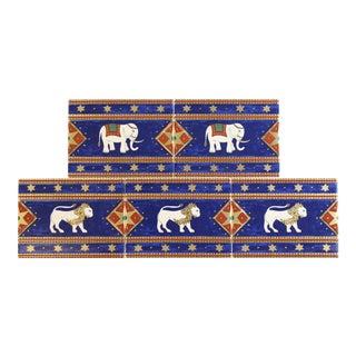 Villeroy & Boch Elephant Enamel Tiles - Set of 5