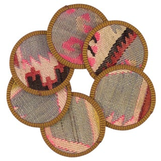 Ayla Kilim Coasters - Set of 6