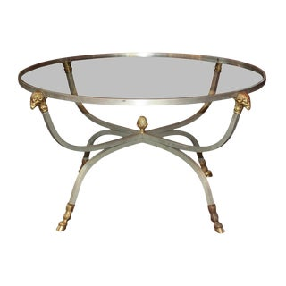 Mid-Century Neoclassical Occasional Table