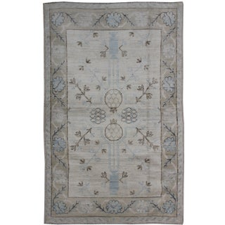 "Aara Rugs Inc. Hand Knotted Oushak Rug - 6'0"" X 4'0"""