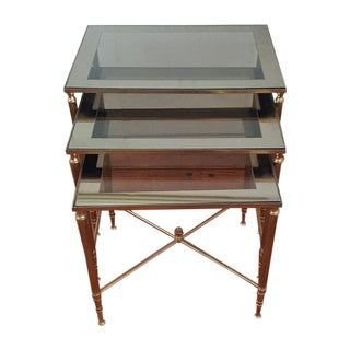 Hollywood Regency Nesting Table - Set of 3