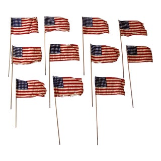 48 star American parade flag collection