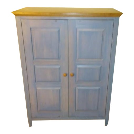Ethan Allen Country Hutch/Media Center - Image 1 of 3