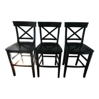 Pottery Barn Aaron Barstools - Set of 3